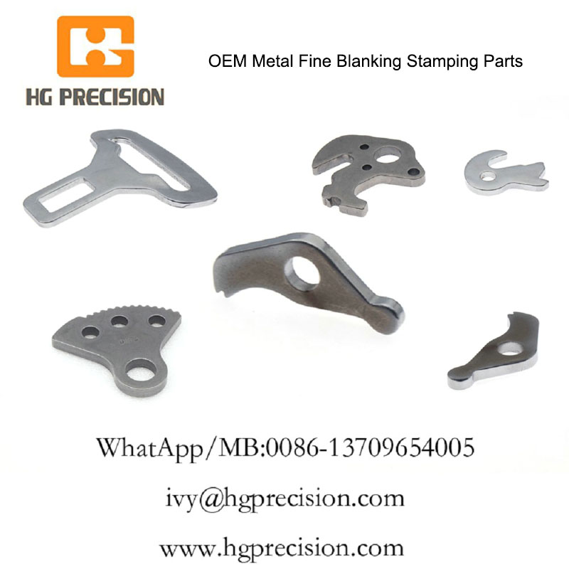 OEM Metal Fine Blanking Stamping Parts In China - HG